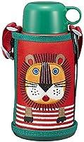 タイガー 水筒 600ml 直飲み コップ 付 2WAY ステンレス ボトル ポーチ付き サハラ コロボックル ライオン MBR-B06G-RL Tiger