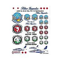 【ステッカー】航空自衛隊(JASDF) ステッカーシート No.1 ブルーインパルス