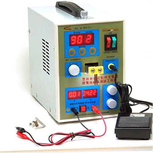 zmart 充電池タブ 小型 スポット溶接機 充電機 テスター 0.2mm 800A 日本語取扱説明書 並行輸入品