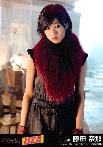 AKB48 公式生写真 UZA 劇場盤 スクラップ&ビルド Ver. 【藤田奈那】 -