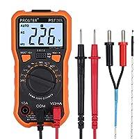 Proster デジタルマルチメータ 2000カウント 電圧 電流 抵抗 NCV 温度 トランジスタ ダイオード 導通測定