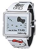 [エプソン スマートキャンバス]EPSON smart canvas Hello Kitty シンプルホワイト 腕時計 W1-HK10110