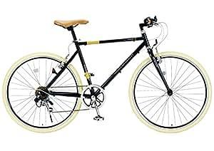 My Pallas(マイパラス) クロスバイク M-640-BK 26インチ 6段変速 ブラックオニキス