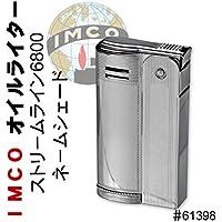 IMCO イムコ オイル ライター イムコ ストリームライン ネームジェ 6800 フリント式