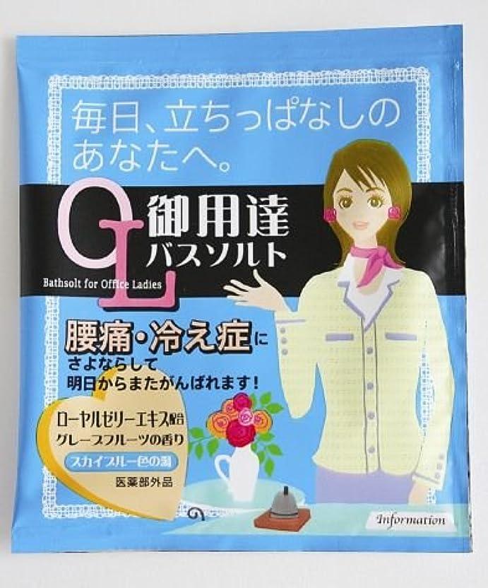 家事をする提案する情報入浴剤 OL御用達バスソルト~毎日、立ちっぱなしのあなたへ~(腰痛?冷え性)