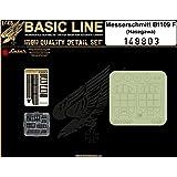 HGW 1: 48Basic Line Messerschmitt bf109F for Hasegawa–Detail &マスク# 148803