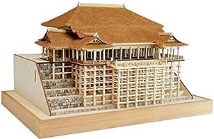 ウッディジョー 1/150 清水寺 本堂・舞台 木製建築模型 組立キット