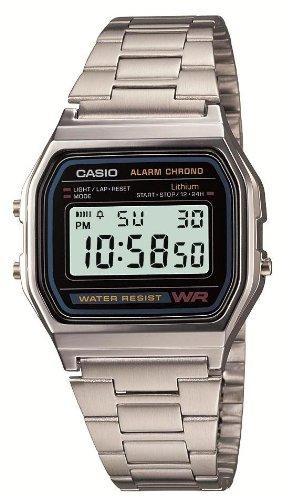 [カシオ]CASIO 腕時計  スタンダード A158WA-1JF メンズ