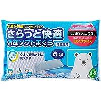 アイリスオーヤマ ひんやり アイス枕 洗える 瞬間冷却 冷却 ソフト 氷まくら メッシュカバー 保冷持続 4~8時間 ロング