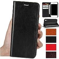 サムスンgalaxy S9+ Plusケース手帳型 SC-03KギャラクシーS9+手帳型ケースSC-03K SCV39ケースJaorty牛革収納ポケットスタンド機能 耐久性 高級感大人っぽい手作りデザインオシャレ4色-ブラック
