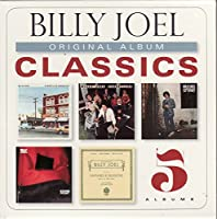 Billy Joel - Billy Joel - Original Album Classics - 5 Discs + Digital Copy - 5 Albums Streetlife Sernade / Turnstiles / 52nd Street / Storm Front / Fantasies & Delusions (5 CD)