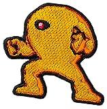 ロックマン 2way刺繍ワッペン<イエローデビル> 【オフィシャルライセンス商品】 グラフト ゲーミングライフ GGL062