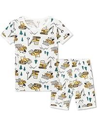パジャマ 2点セット 綿100% 部屋着 寝間着 上下セット 2-11歳 男の子 半袖 長袖 子供服 トップス パンツ キッズパジャマ カジュアル 快適 肌触りがいい