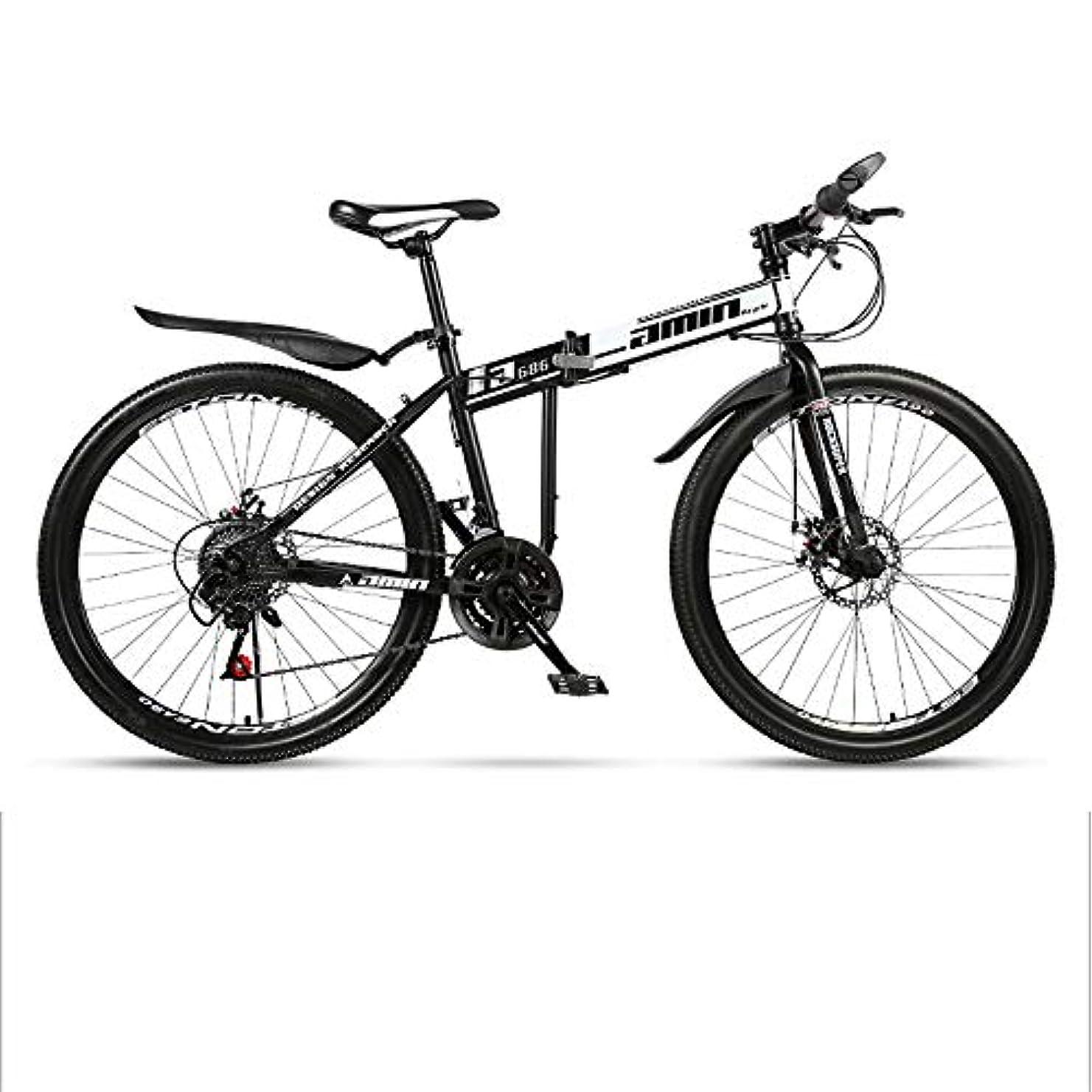 制約ネックレス写真撮影マウンテンバイク、24/26インチホイールマウンテントレイルバイク、21速ギアデュアルスチールブレーキ付き炭素鋼フレーム自転車