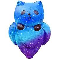 ジャンボSheep SquishyかわいいアルパカGalaxy Super Slow Rising香りつき楽しい動物おもちゃStarryキュートバナナベアクリームSquishy Slow Rising Squeeze Kids Toy Size: 12*8*5cm