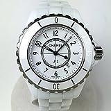 [シャネル]CHANEL 腕時計 J12 ジェイトゥエルヴ レディス レディース クォーツ 白 ホワイトセラミック H0968 レディース 中古