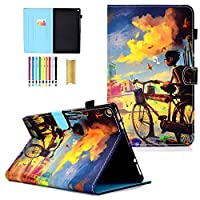 iPad Air Case,iPad 5 Case - LittleMax(TM) Slim [Card Slot] Flip Leather Case [Auto Sleep/Wake]Stand Case Cover for iPad Air / iPad 5 [Free Cleaning Cloth,Stylus Pen]--#1Marshmallow Cup by LittleMax
