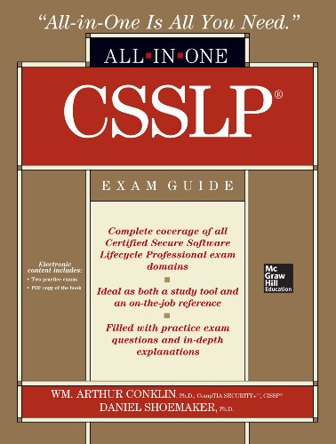 Download CSSLP Certification All-in-One Exam Guide (English Edition) B00EHIEAHA