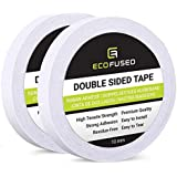 Eco-Fused Double Sided Adhesive Tape - for Arts and Crafts, DIY and Office - Quick and Easy to Use On Paper, Glass, Plastic,