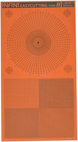 インフィニモデル イージーカッティングマットB 円形/正方形 模型用工具 IT3002