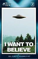 """アトランティスモデル""""真実を求めて"""" ビリー・マイヤー UFO (ライトユニット付属) プラスチックモデルキット AMC1008"""
