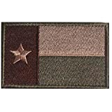 WZT Texas State Flag Patch Morale Patch-Tactical Morale