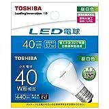 東芝 LED電球 ミニクリプトン形 440lm(昼白色相当)TOSHIBA LDA4N-H-E17/S/40W