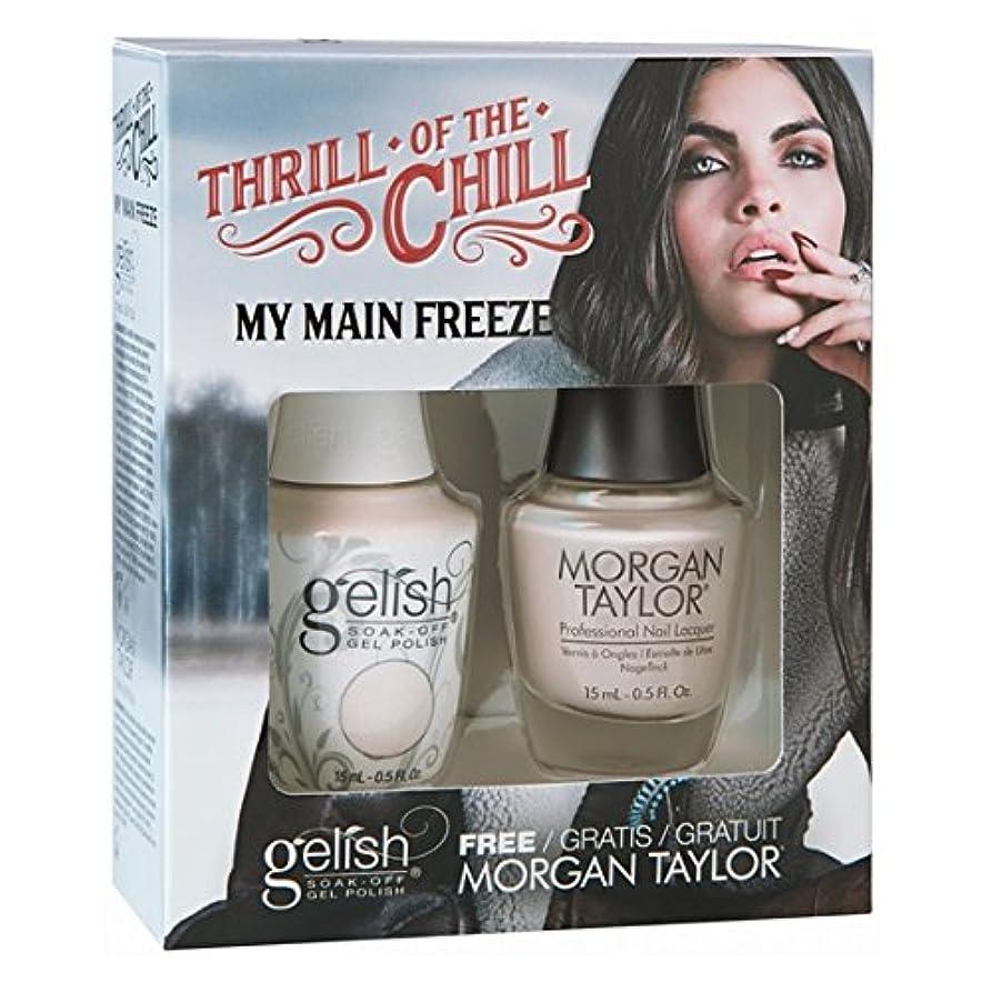 パイプラインミル何でもHarmony Gelish & Morgan Taylor - Two Of A Kind - 2017 Winter Collection - Thrill Of The Chill - Angling For A...