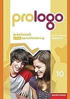 prologo 10. Arbeitsheft plus Sprachfoerderung. Allgemeine Ausgabe