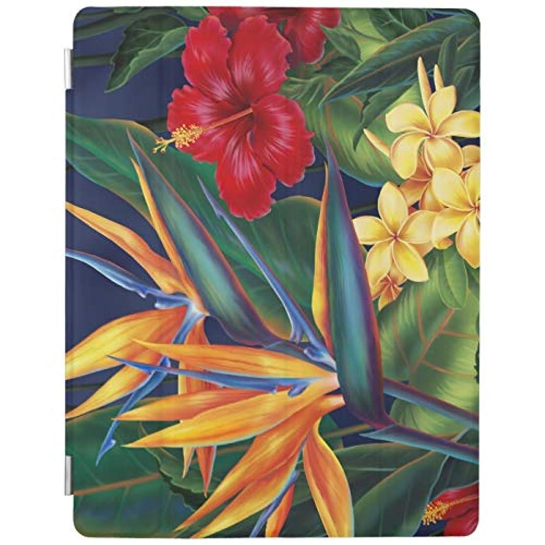 不明瞭記述するポイント熱帯楽園 ハワイ RECASO iPad Pro 9.7 ケース Pro 9.7インチタブレット専用半透明 PC + PUレザー オートスリープ機能付き 三つ折スタンド バックケース