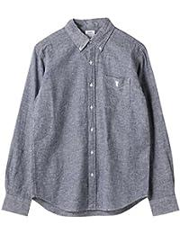 (コーエン) COEN 綿麻シャンブレーボタンダウンシャツ 75106028013