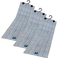 フォーラル 強力 除湿・消臭 シートクローゼット用 吊り下げ型 繰り返し使えるから経済的 (お知らせセンサー付)×3セット