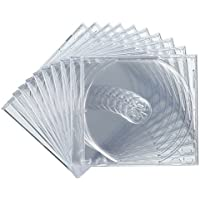 サンワサプライ BD DVD CDケース 1枚収納×10 クリア FCD-PN10C