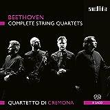 ベートーヴェン : 弦楽四重奏曲全集 (Beethoven : Complete String Quartets / Quartetto di Cremona ) [8SACD] [輸入盤] [日本語帯・解説付]