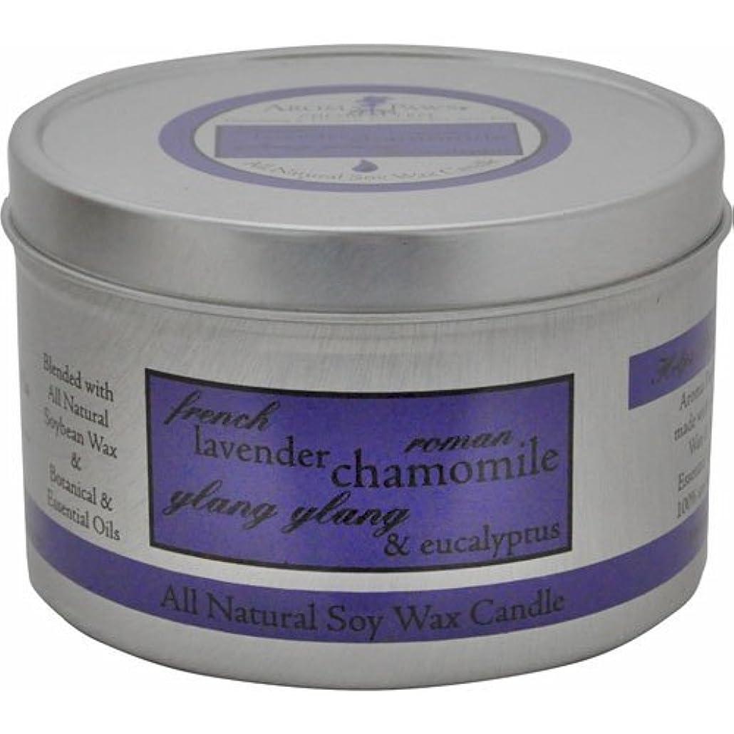 池症状誘惑するAroma Paws Travel Tin Candle, 8-Ounce, Lavender Chamomile by Aroma Paws