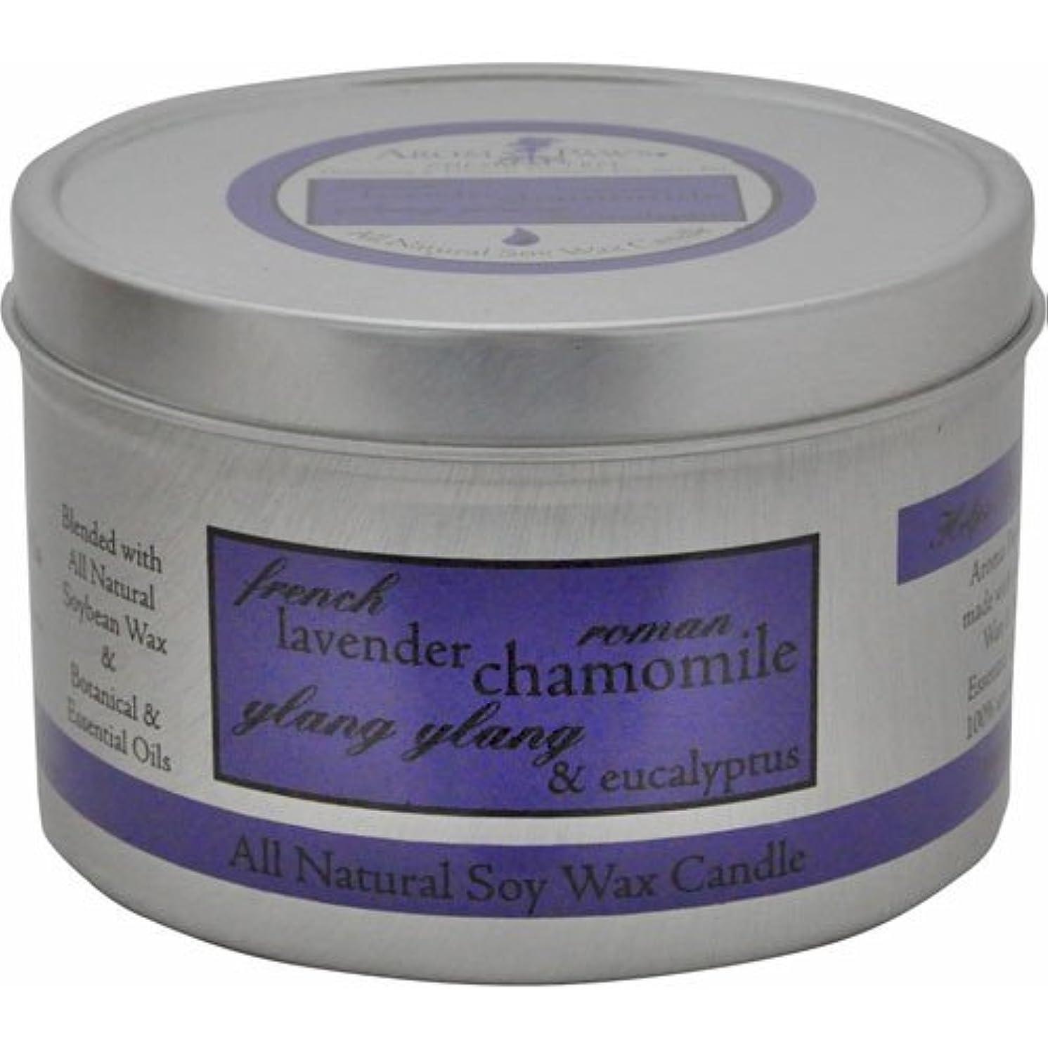 ゆりかご警告する関係するAroma Paws Travel Tin Candle, 8-Ounce, Lavender Chamomile by Aroma Paws