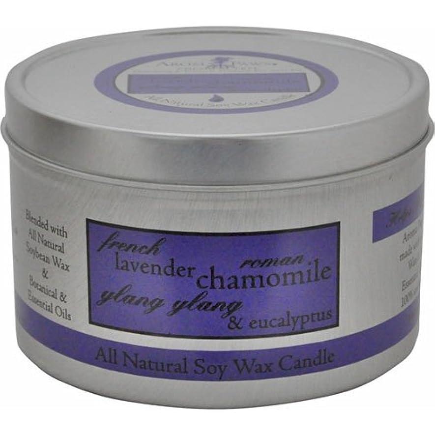 現金知覚的心からAroma Paws Travel Tin Candle, 8-Ounce, Lavender Chamomile by Aroma Paws