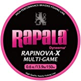 Rapala(ラパラ) ライン ラピノヴァX マルチゲーム ピンク 150m 0.6号