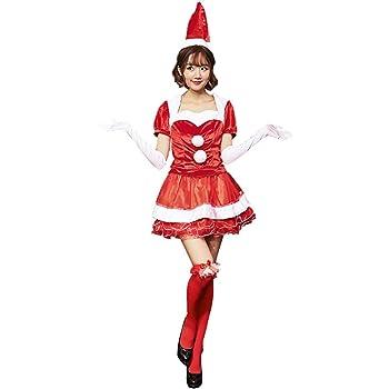 cc16254a04ad6 S C Live クリスマスコスプレ衣装 レディース セレブ風豪華5点セット ケープ式上着