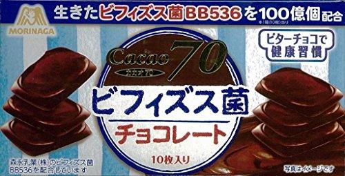 森永製菓 ビフィズス菌チョコレート 10枚×10個