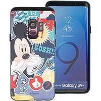 99f534f41c Galaxy S9 Plus ケース Disney Mickey Mouse ディズニー ミッキーマウス ダブル バンパー ケース/二層構造 TPU ケース + PCカバー/デュアルレイヤー 耐衝撃 薄型 衝撃 ...