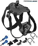 Best 世界のアウトドア製品カメラ - Nomadic Gear 犬用フェッチ犬ハーネスマウント Sports Camera Accessories Kit Review