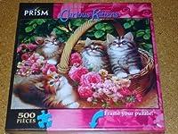 Curious Kittens 500 Piece Jigsaw Puzzle 48cm X 33cm