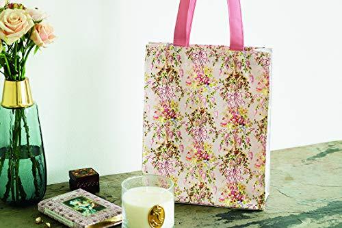 他のどこでも買えない「王妃の寝室」の花柄を使用したトートバッグ!ヴェルサイユ宮殿初の監修アイテム付きブックが発売中。