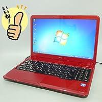 ★即使用可能!中古ノートパソコン★ ★Windows 7 Home Premium 64bit搭載★ NEC LaVie LS150/C /Intel Celeron P4600 2.00GHz/メモリー 4GB/HDD 320GB/15.6インチワイド液晶(1366x768)/DVDスーパーマルチレコーダー搭載/無線LAN(Wi-Fi)搭載/テンキー有/Microsoft Office 2010搭載