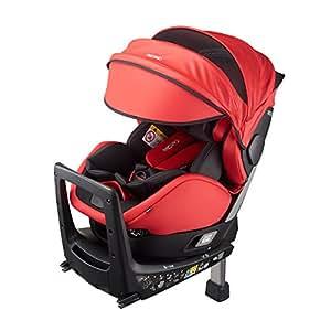 レカロ RECARO ゼロワン セレクト R129 スパーキーレッド RC6305.21850.07 回転式チャイルドシート(新生児から4歳頃) 新安全基準R129適合、ISOFIX取付けタイプ