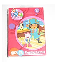 ニック・Jr DORA the EXPLORER PLAYING CARDS ( Ages 3 – 6 )