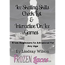 Ice Skating Skills Check List  &  Interactive Games
