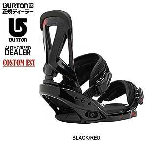 (バートン)BURTON 2016年モデル ビンディング CUSTOM EST カスタム EST バートン 日本正規品 バートン b02-16-006 L BLACK/RED