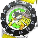 [ポケットモンスター]Poket Monster 腕時計 リストウォッチ キッズ アロイダイバーウォッチ ライコウ イエロー PK10117 ボーイズ
